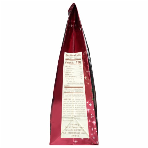 Ghirardelli Holiday Chocolate Assortment Squares Perspective: left