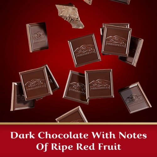 Ghirardelli 60% Cacao Evening Dream Dark Chocolate Perspective: left