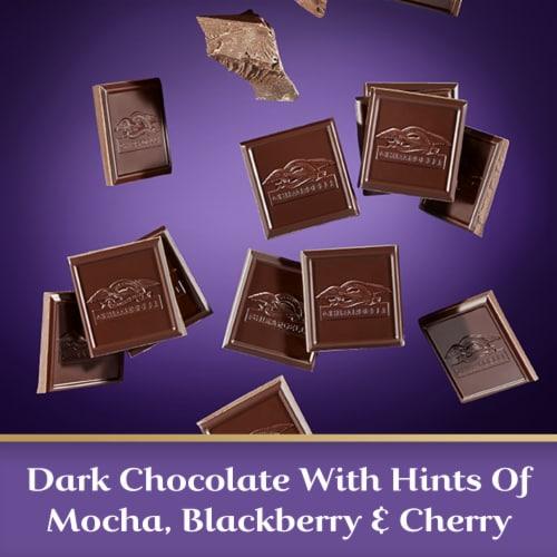 Ghirardelli Intense Dark 72% Cacao Chocolate Bar Perspective: left