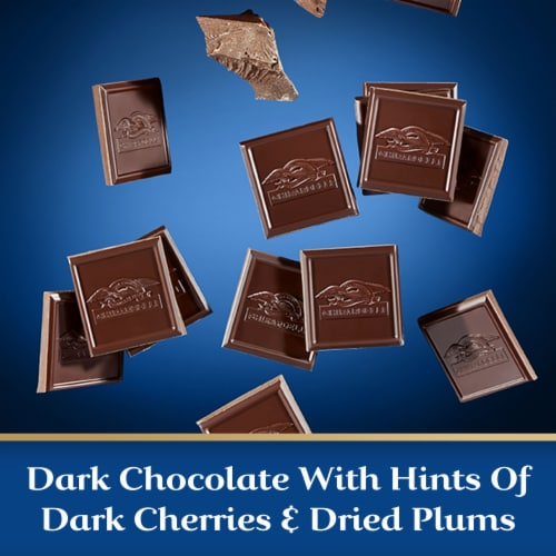 Ghirardelli Intense Dark 86% Cacao Midnight Reverie Chocolate Bar Perspective: left