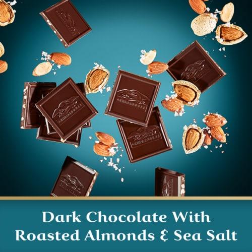 Ghirardelli Intense Dark Sea Salt Soiree Dark Chocolate Perspective: left