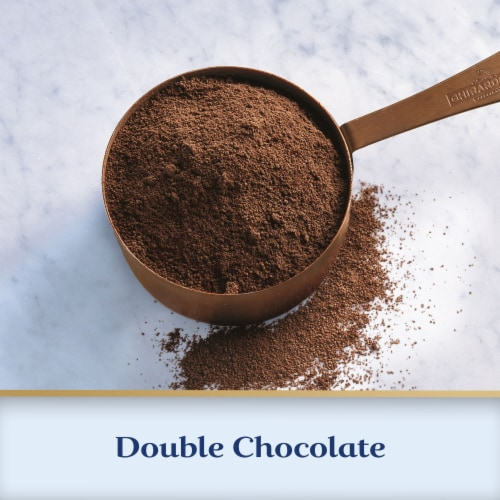 Ghirardelli® Double Chocolate Hot Cocoa Mix Perspective: left
