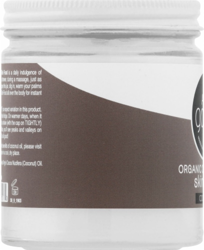 Elemental Herbs All Good Organic Coconut Oil Skin Food Perspective: left
