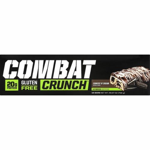 MusclePharm  Combat Crunch™ Bars   Cookies 'N Cream Perspective: left