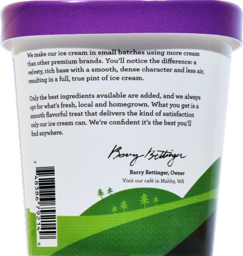Snoqualmie French Lavender Ice Cream Perspective: left