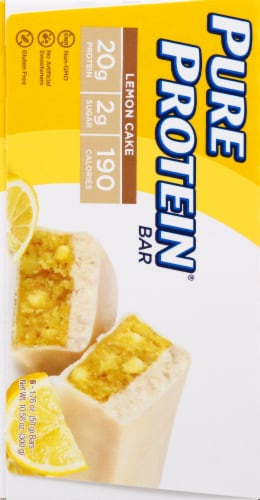 Pure Protein Lemon Cake Bars Value Pack Perspective: left