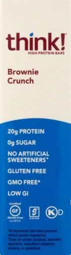 thinkThin® Gluten Free Brownie Crunch High Protein Bars Perspective: left