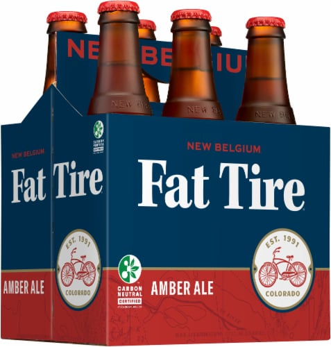 New Belgium Fat Tire Amber Ale Perspective: left