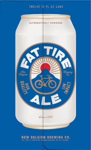New Belgium Fat Tire Amber Ale Beer Perspective: left