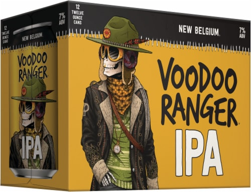 New Belgium Ranger IPA Beer (12 Pack) Perspective: left