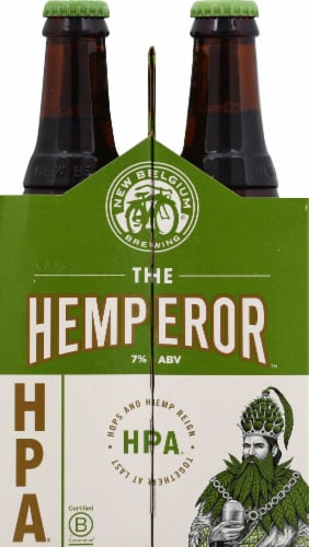 New Belgium The Hemperor HPA Beer Perspective: left