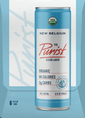 New Belgium The Purist Clean Lager Perspective: left
