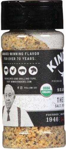 Kinder's Organic The Blend Seasoning Perspective: left