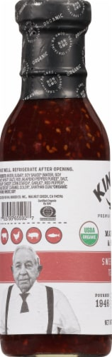 Kinder's Sweet & Spicy Teriyaki Marinade and Sauce Perspective: left