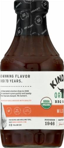Kinders Organic Mild BBQ Sauce Perspective: left