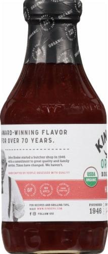 Kinder's Organic Hot Bbq Sauce Perspective: left