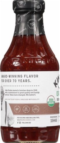 Kinder's Organic Roasted Garlic Bbq Sauce Perspective: left