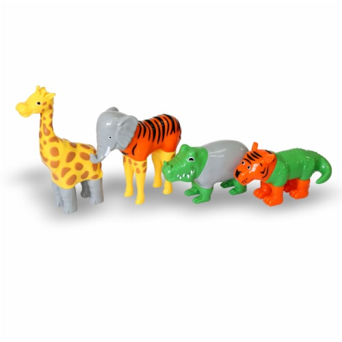 Popular Playthings PPY62000 Magnetic Mix or Match Animals Perspective: left