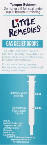 Little Remedies Berry Flavor Gas Relief Drops Perspective: left