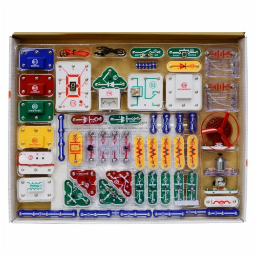 Elenco Snap Circuits Pro Perspective: left