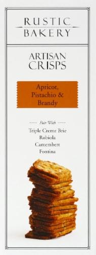 Rustic Bakery Apricot Pistachio & Brandy Artisan Crisps Perspective: left