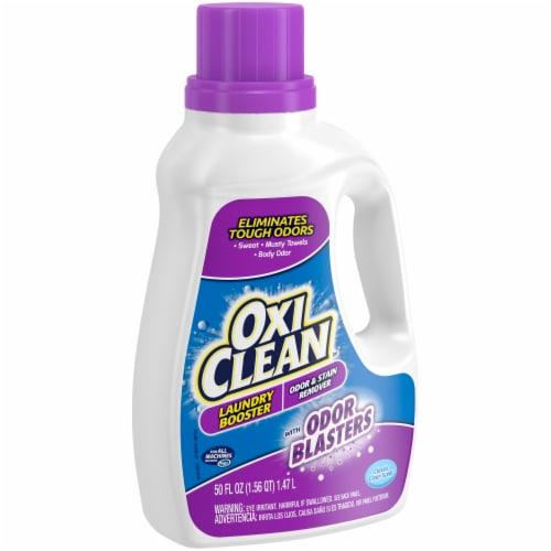 OxiClean Odor Blasters Classic Clean Scent Odor & Stain Remover Laundry Booster Perspective: left