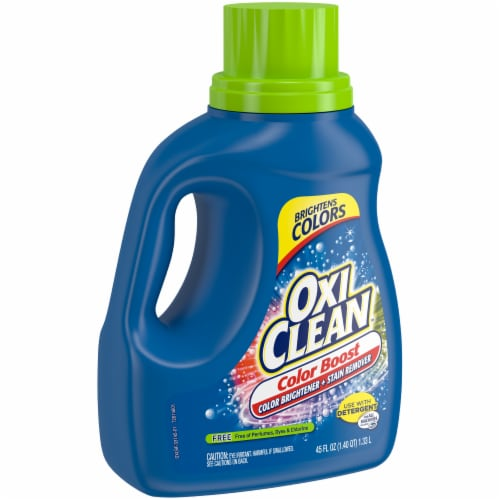 OxiClean Triple Power Free Stain Fighter Laundry Detergent Perspective: left