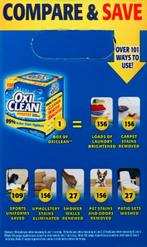 OxiClean Versatile Laundry Stain Remover Perspective: left