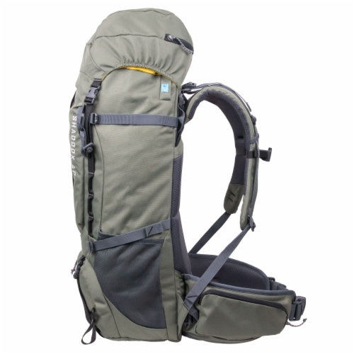 NorthRange Shaddox 40L Camping Backpack Perspective: left