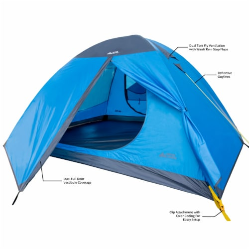 North Range Cross Country 2-Person Tent Perspective: left