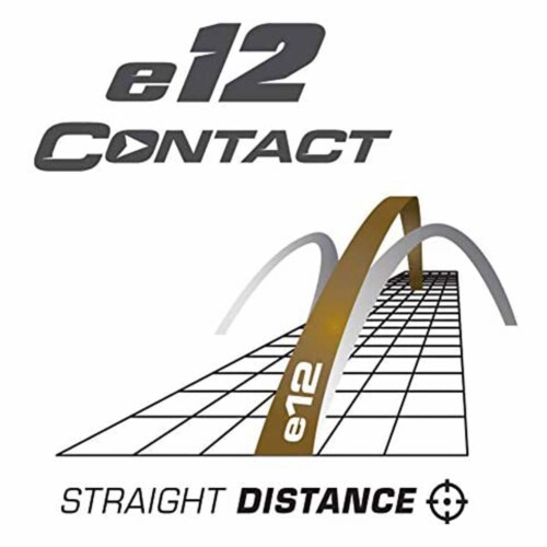 Bridgestone e12 CONTACT Series Golf Balls with Force Dimples, White, 12 Pack Perspective: left
