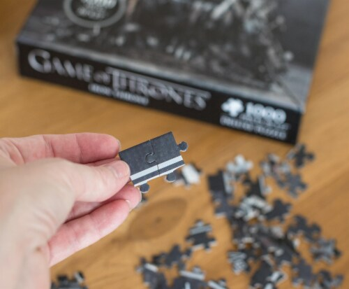 Game Of Thrones Puzzle The Iron Throne 1000 Piece Jigsaw Puzzle | Ages 15 & Up Perspective: left