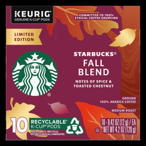 Starbucks® Fall Blend Medium Roast Coffee K-Cup Pods Perspective: left