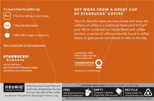 Starbucks Plus Medium Roast Coffee K-Cup Pods Perspective: left