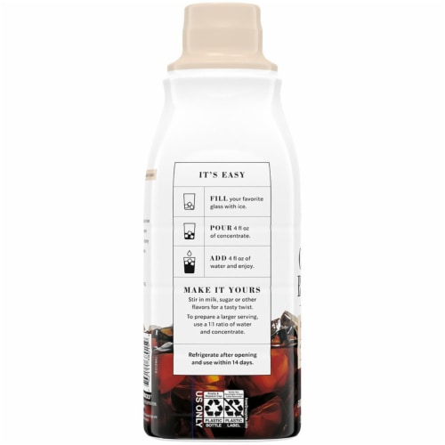 Starbucks Madagascar Vanilla Cold Brew Coffee Concentrate Perspective: left