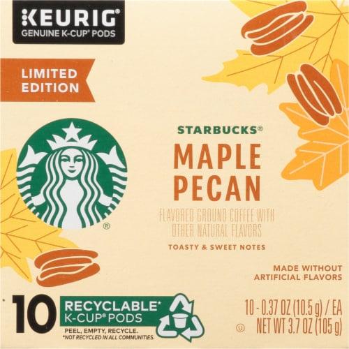 Starbucks® Maple Pecan Ground Coffee K-Cup Pods Perspective: left