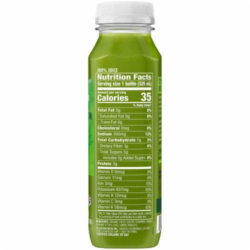 Evolution Fresh Organic Green Devotion Cold-Pressed Juice Blend Perspective: left