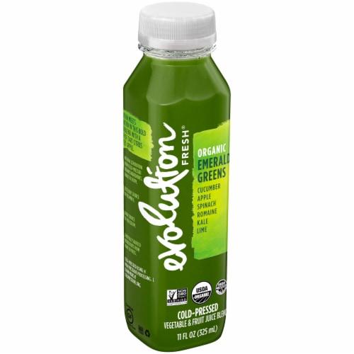 Evolution Fresh Organic Emerald Greens Juice Blend Perspective: left