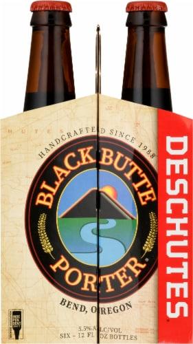 Deschutes Brewery Black Butte Porter Beer Perspective: left