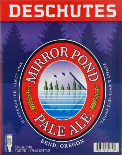 Deschutes Brewery Mirror Pond Pale Ale Perspective: left