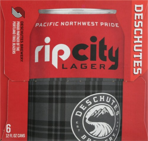 Deschutes Brewery Rip City Lager Perspective: left