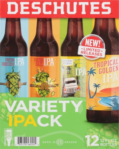 Deschutes Brewery Variety Pack Perspective: left
