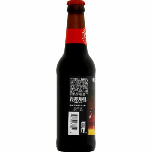 Deschutes Brewery Obsidian Stout Perspective: left