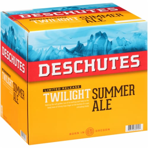 Deschutes Brewery Hop Slice Summer Ale Perspective: left