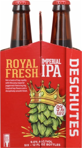 Deschutes Brewery Royal Fresh Imperial IPA Perspective: left