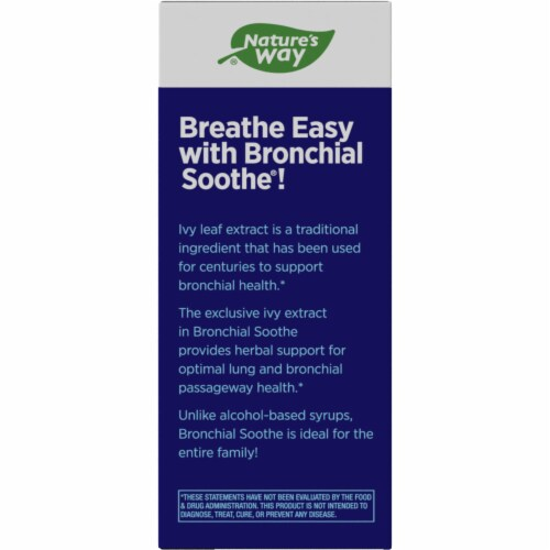 Nature's Way Bronchial Soothe Ivy Leaf Syrup Perspective: left
