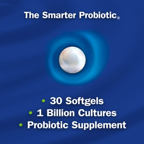 Enzymatic Therapy Probiotic Pearls Adult 50+ Softgels Perspective: left