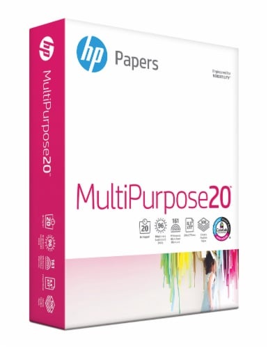 HP Multipurpose Paper - White - 500 Pack Perspective: left