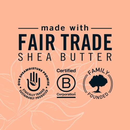 Shea Moisture Apricot & Honey Nourishing Bar Soap Perspective: left
