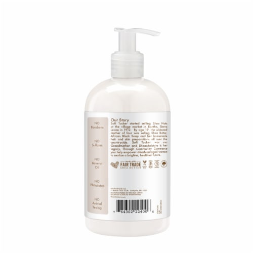 Shea Moisture 100% Virgin Coconut Oil Baby Lotion Perspective: left